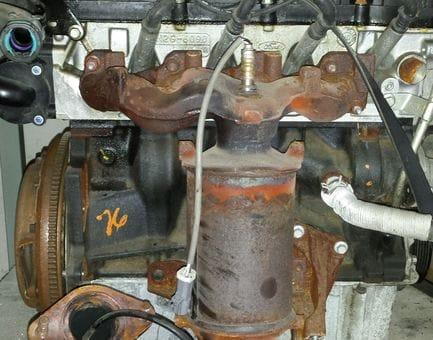 Контрактный двигатель Ford Fiesta V 1.3  A9JA 69 л.с.