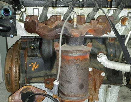 Контрактный двигатель Ford Fiesta V 1.3   A9JB 69 л.с.