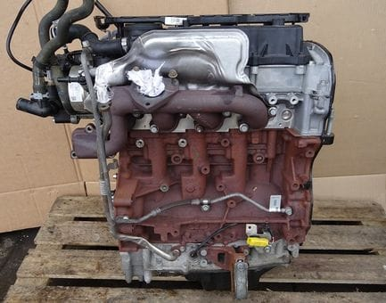 Контрактный двигатель Ford Tourneo Custom 2.2 TDCi  DRF4 100 л.с.