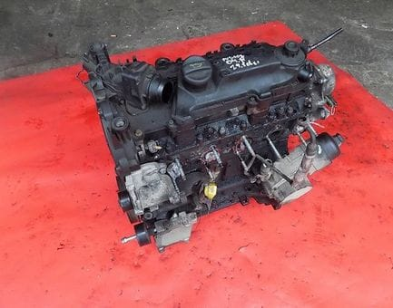Контрактный двигатель Ford Fiesta V 1.4 TDCi  F6JA 68 л.с.