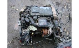 Контрактный двигатель Ford Fiesta VI 1.4 TDCi  F6JB 68 л.с.