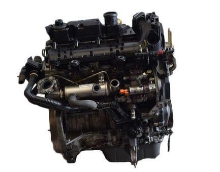 Контрактный двигатель Ford Fiesta VI 1.4 TDCi  F6JC 68 л.с.