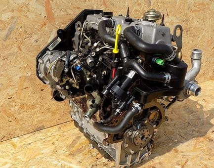 Контрактный двигатель Ford Focus 1.8 TDCi  FFDA 100 л.с.