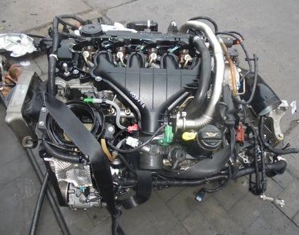 Контрактный двигатель Ford Focus II 2.0 TDCi   G6DB 136 л.с.