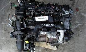Контрактный двигатель Ford Focus II 1.6 TDCi  HHDA 90 л.с.