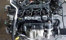 Контрактный двигатель Ford Fiesta VI 1.6 TDCi  HHJF 75 л.с.