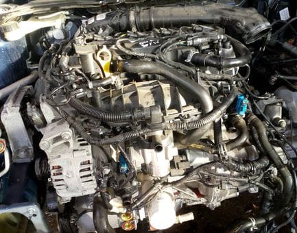Контрактный двигатель Ford Grand C-Max 1.6 EcoBoost   JQDB 150 л.с.