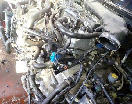 Контрактный двигатель Ford Tourneo Connect II 1.6 EcoBoost  JQGA 150 л.с.