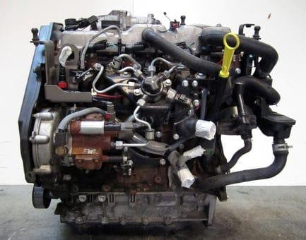Контрактный двигатель Ford Focus II 1.8 TDCi  KKDA 115 л.с.