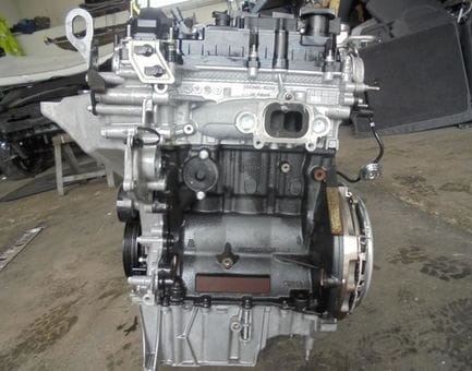 Контрактный двигатель Ford Fiesta VI 1.0  P4JA 80 л.с.