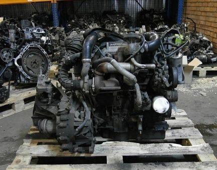 Контрактный двигатель Ford Transit Connect 1.8 TDCi   P9PC 90 л.с.