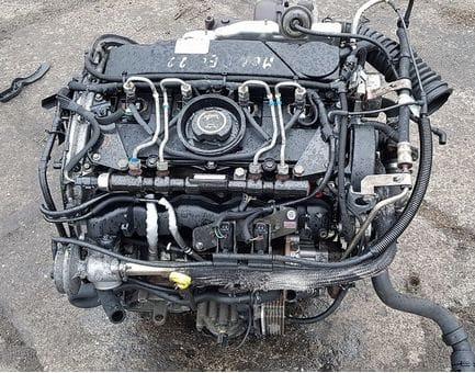 Контрактный двигатель Ford Mondeo III 2.2 TDCi   QJBD 150 л.с.