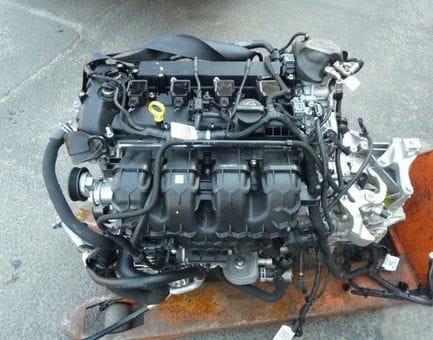 Контрактный двигатель Ford Mondeo IV 1.6 Ti  RHBA 110 л.с.