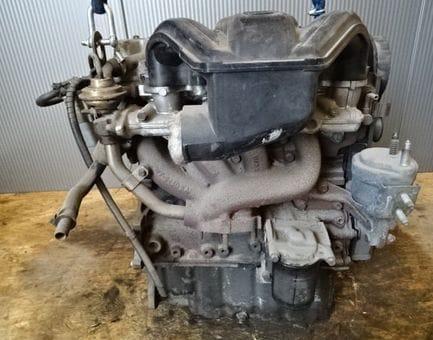 Контрактный двигатель Ford Fiesta IV 1.8 D  RTJ 60 л.с.
