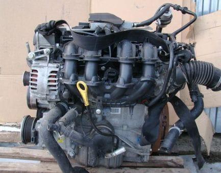 Контрактный двигатель Ford Fiesta VI 1.4 LPG   RTJB 97 л.с.