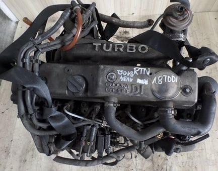 Контрактный двигатель Ford Fiesta IV 1.8 DI  RTN 75 л.с.