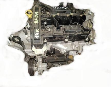 Контрактный двигатель Ford Fiesta VI 1.0 EcoBoost   SFJB 100 л.с.