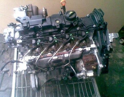 Контрактный двигатель Ford Tourneo Connect II 1.6 TDCi  TZGA 95 л.с.