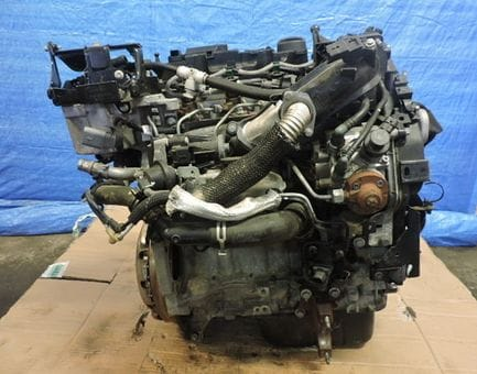 Контрактный двигатель Ford Fiesta VI 1.6 TDCi   TZJA 95 л.с.