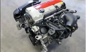 Контрактный двигатель Mercedes C200 Kompressor (W203) M 111.955 2,0 163 л.с.
