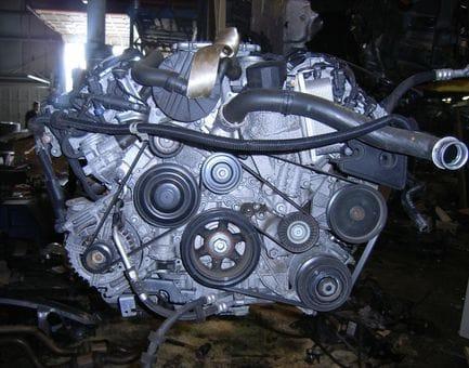 Контрактный двигатель Mercedes C280 4-matic (W204) M 272.948 3,0 231 л.с.