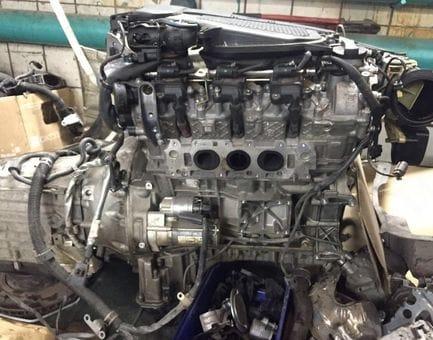 Контрактный двигатель Mercedes E300 BlueEfficiency 4-matic (W212) M 276.952 3,5 252 л.с.