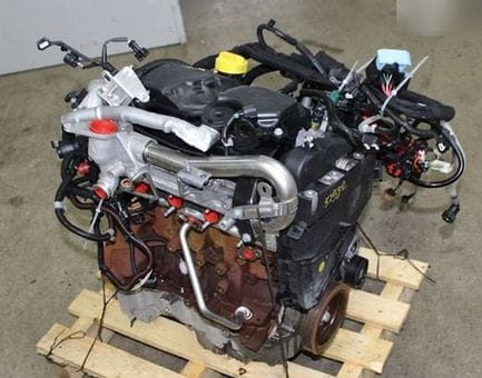 Контрактный двигатель Mercedes A160 CDI (W176) OM 607.951 1,5 90 л.с.