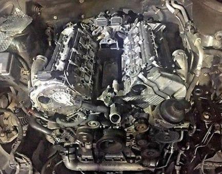 Контрактный двигатель Mercedes GL450 CDI (X164) OM 629.912 4,0 306 л.с.