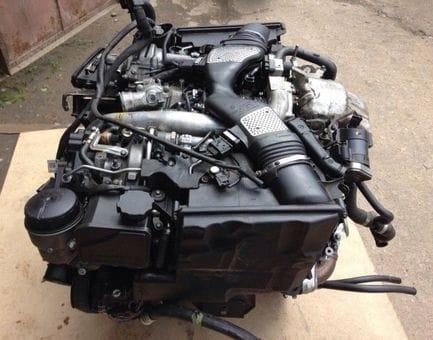 Контрактный двигатель Mercedes E350 BlueTEC 4-matic (W212) OM 642.852 3,0 252 л.с.