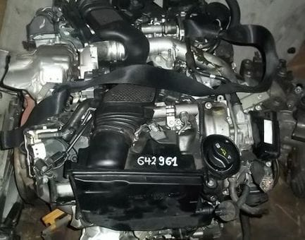 Контрактный двигатель Mercedes C320 CDI 4-matic (W204) OM 642.961 3,0 224 л.с.