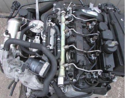 Контрактный двигатель Mercedes C220 CDI (W204) OM 646.811 2,1 163 л.с.