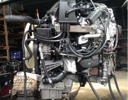 Контрактный двигатель Mercedes Sprinter 3,5 II 316 CDI 4WD (906) OM 651.955 2,2 163 л.с.
