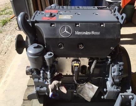 Контрактный двигатель Mercedes Vario 818 DA 4WD  OM 904.964 4,2 177 л.с.