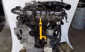 Контрактный двигатель Seat Altea 1.9 TDI   BLS 105 л.с.