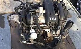 Контрактный двигатель Seat Altea 1.2 TSI  CBZB 105 л.с.