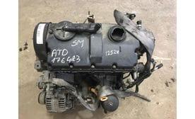 Контрактный двигатель Skoda Fabia 1.9 TDI  ATD 100 л.с.