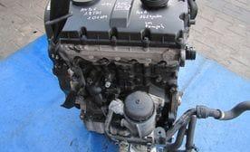 Контрактный двигатель Skoda Superb 1.9 TDI  AVB 101 л.с.
