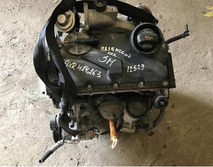 Контрактный двигатель Skoda Fabia 1.9 TDI   AXR 100 л.с.