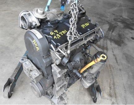 Контрактный двигатель Skoda Octavia 1.9 TDI   AXR 100 л.с.